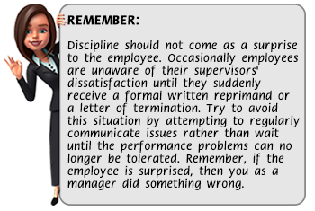 discipline tip of the week